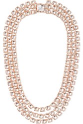 Larkspur And Hawk Antoinette Riviere Rose Gold Dipped Topaz Necklace