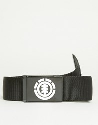 Element Beyond Webbing Belt Black