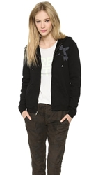 Freecity Large Sherpa Zip Sweatshirt Black