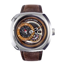 Sevenfriday Q2 O1 Automatic Watch Unisex Brown