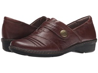 Naturalizer Response Bridal Brown Leather Women's Slip On Shoes