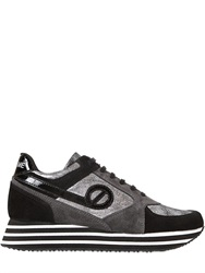 No Name 30Mm Parko Jogger Leather Sneakers