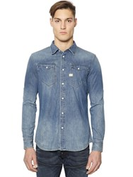 G Star Tacoma Cotton Denim Shirt
