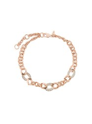 Starrs London 'Chain Sica' Choker Pink Purple