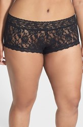 Plus Size Women's Hanky Panky Boyshorts Black