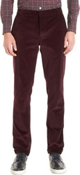 Band Of Outsiders Corduroy Pants Red Size 36