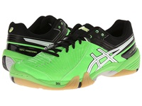 Asics Gel Domain 3 Neon Green White Black Men's Volleyball Shoes