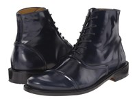 Billy Reid Leather Crosby Boot Midnight Men's Lace Up Boots Navy