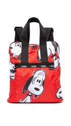 Le Sport Sac Peanuts X Lesportsac Everyday Backpack Snoopy Fun Red