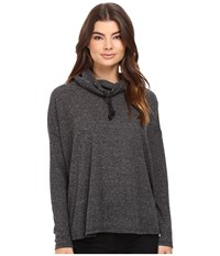 Burton Bloom Knit Top True Black Heather Women's Clothing
