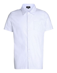 A.P.C. Short Sleeve Shirt White