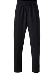 Givenchy Cropped Tapered Trousers Black