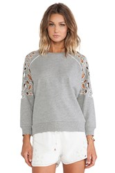 Lovers Friends Eden Pullover Gray