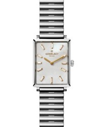 Gomelsky By Shinola Shirley 32Mm Bracelet Watch With Diamonds White Silver