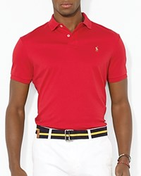 Ralph Lauren Soft Touch Slim Fit Polo Red