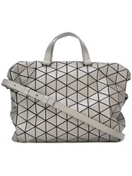Issey Miyake Bao Bao 'Tonneau Boston' Shoulder Bag Grey