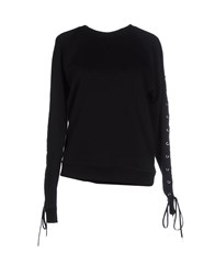 Jean Paul Gaultier Topwear Sweatshirts Women Black