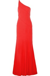 Narciso Rodriguez One Shoulder Crepe Gown