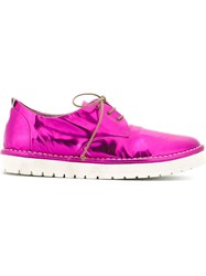 Marsa Ll Lace Up Shoes Pink And Purple