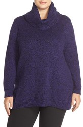 Plus Size Women's Ellen Tracy Cowl Neck Sweater