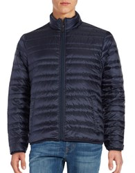 Michael Kors Down Quilted Puffer Coat Midnight