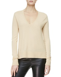 The Row Easy V Neck Pullover Sweater Matchstick