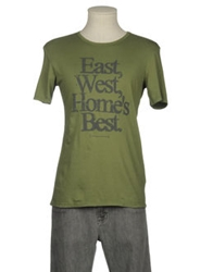 Messagerie Short Sleeve T Shirts Military Green