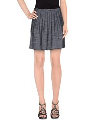 Jucca Skirts Mini Skirts Women Dark Blue