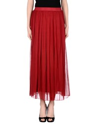 Pour Moi Pour Moi Skirts Long Skirts Women Brick Red
