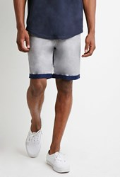 Forever 21 Contrast Cuff Shorts
