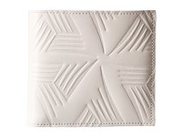 Marni Flower Embossed Leather Bifold White Wallet Handbags