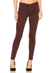 Joe's Jeans The Icon Ankle Skinny Red