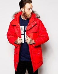The North Face Mcmurdo 2 Down Parka Red