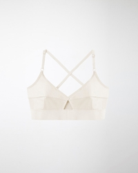 Base Range Lady Bra Off White
