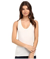 Rvca Baxter Tank Top Vintage White Women's Sleeveless Beige