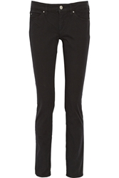Isabel Marant Emba Denim Straight Leg Jeans Black