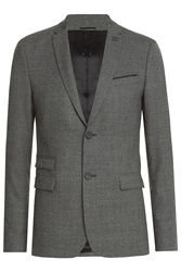 The Kooples Wool Blazer Grey