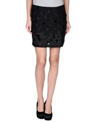 Angelina Folies Mini Skirts Black