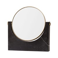 Menu Pepe Marble Mirror Brass Black