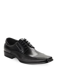Kenneth Cole Reaction Self Review Lace Up Loafers Black