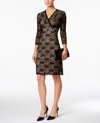Charter Club Petite Lace Sheath Dress Only At Macy's Deep Black