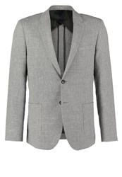 Reiss Tate Suit Jacket Charcoal Dark Gray