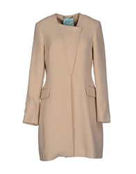 Manila Grace Coats And Jackets Full Length Jackets Women Beige