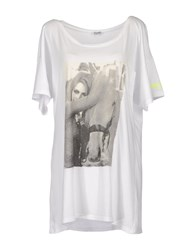 Brigitte Bardot Topwear Short Sleeve T Shirts Women White