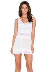 Goddis Jasper Mini Dress White