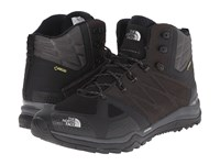 The North Face Ultra Fastpack Ii Mid Gtx Tnf Black Dark Shadow Grey Men's Hiking Boots