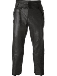 Haider Ackermann Cropped Truousers Black