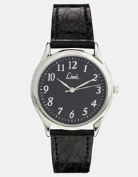 Limit Black Strap Watch 5342.01