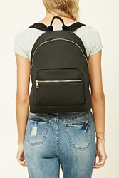 Forever 21 High Polish Zip Backpack