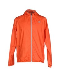 New Balance Coats And Jackets Jackets Men Orange